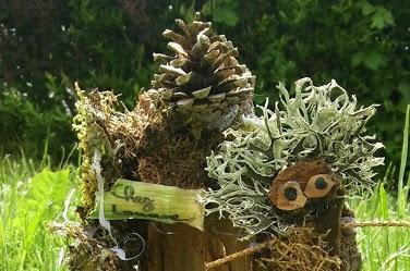 Le peuple miniature des bois